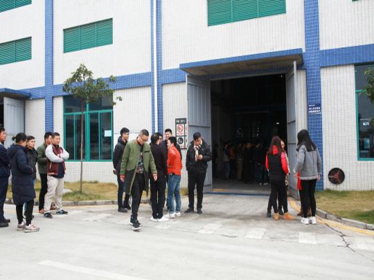 客户参观生产基地05