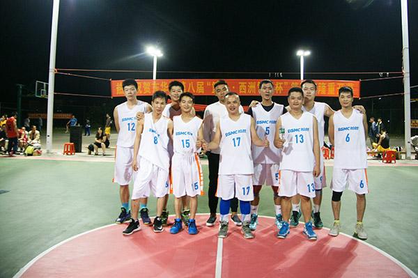 2016东华镇企业篮球赛