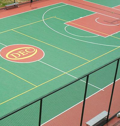 东方电气重型机器有限公司硅PU篮球场
